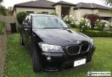 2012 BMW X3 F25 xDrive20d 5dr Steptronic 8sp 4x4 2.0DT [MY12) for Sale